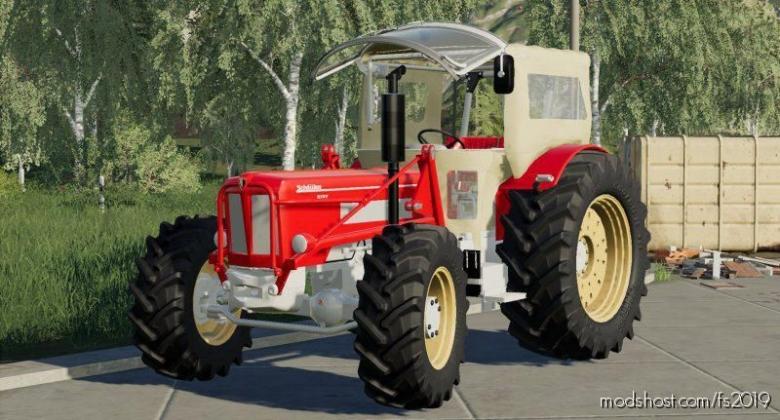 Schluter 850V for Farming Simulator 19