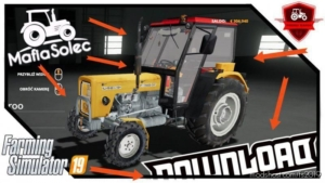 Ursus C360 3P Mafiasolec By Prezes Ziaroo for Farming Simulator 19