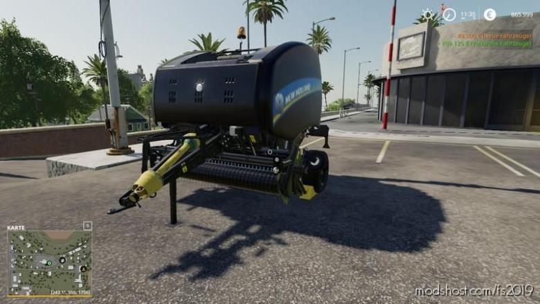 NEW Holland Roll-Belt 150 V1.4 for Farming Simulator 19