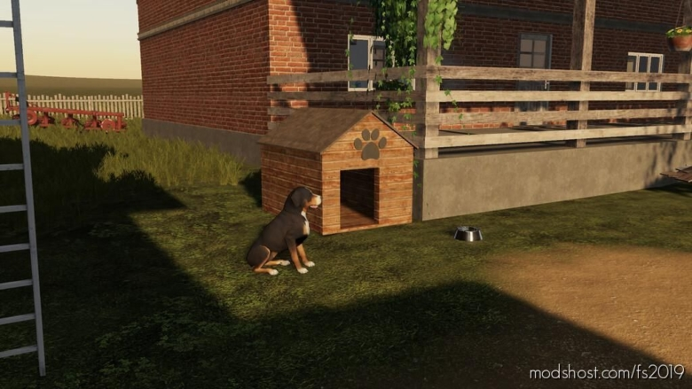 Polish DOG House for Farming Simulator 19