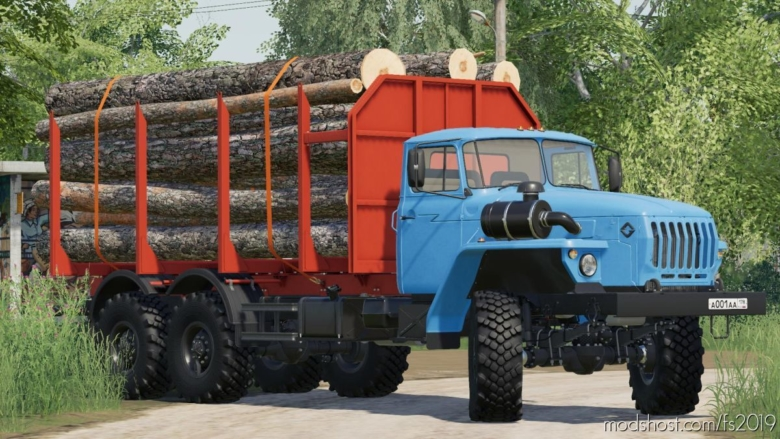 Ural Pack: Autoload Addon for Farming Simulator 19