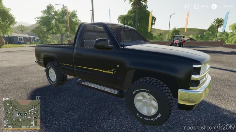 Silverado D20 V2.0 for Farming Simulator 19