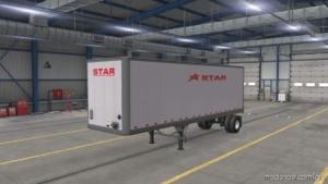 Star Transport INC. SCS BOX Trailer Skin Package for American Truck Simulator