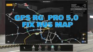 GPS RG PRO FIX RUS Map V5.0 for Euro Truck Simulator 2