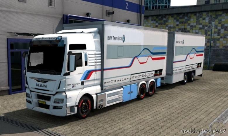 BDF Tandem BMW Motorsport for Euro Truck Simulator 2