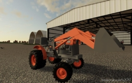 Kubota Mini Tractor V1.1 for Farming Simulator 19