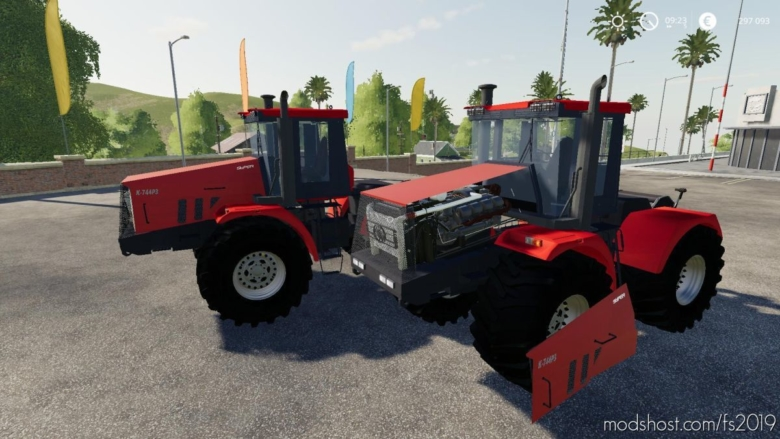 Kirovets K-744 P3 V2.0 for Farming Simulator 19
