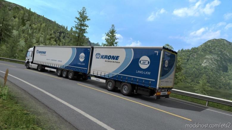 Krone Lang – LKW Paintjob for Euro Truck Simulator 2