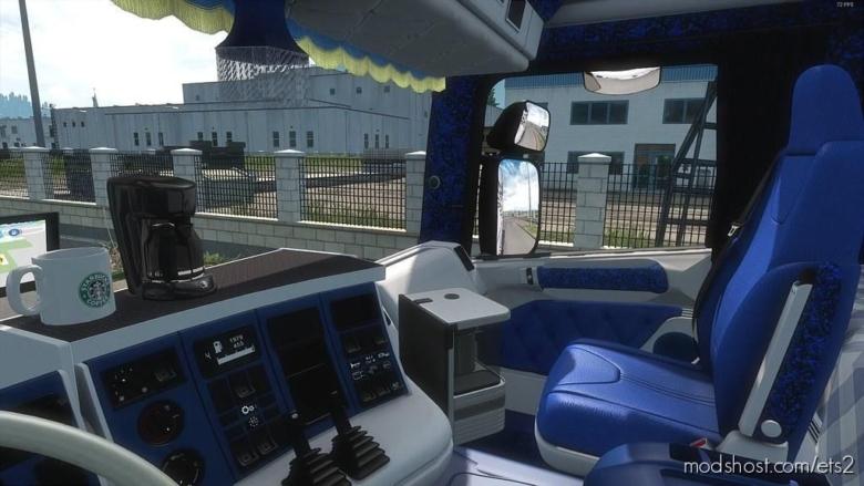 Custom Interior For Rjl's Scania 4 Series [1.38] for Euro Truck Simulator 2