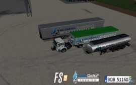 Pack Trailers Global Company Productions for Farming Simulator 19