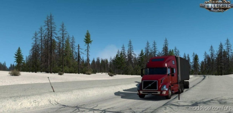Alaska ICE Road Map 4.0 [1.38] for American Truck Simulator