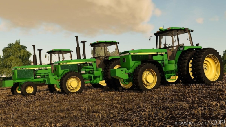JD Large Frame for Farming Simulator 19