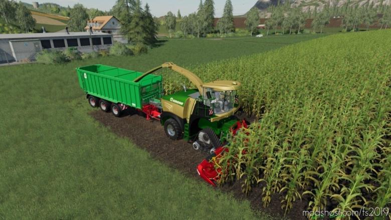 Krone BIG X 580 Pack for Farming Simulator 19