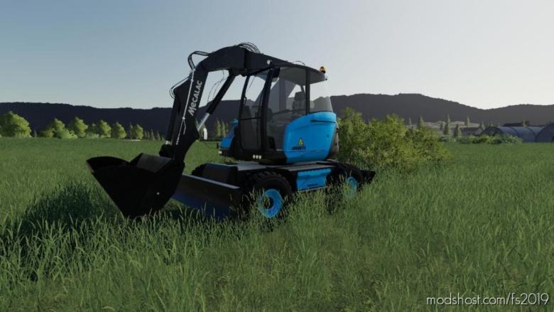 Mecalac 15MWR TMP for Farming Simulator 19