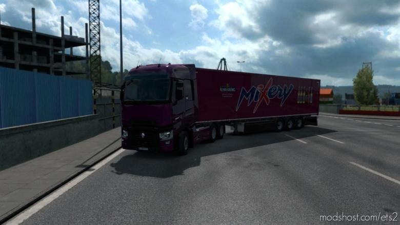 Mixery Trailer Paintjob for Euro Truck Simulator 2