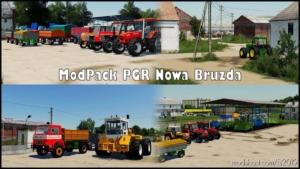 Modpack PGR Bruzda for Farming Simulator 19