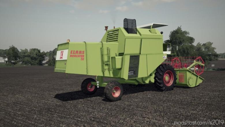 Claas Mecator 60 for Farming Simulator 19