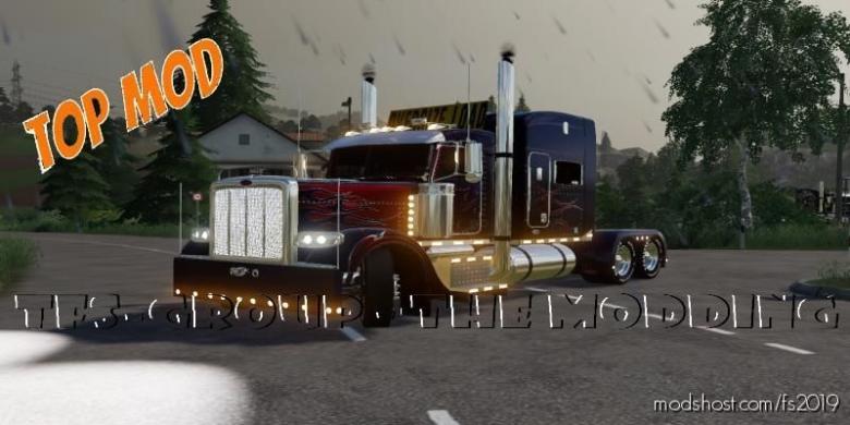Peterbilt 388 Optimus Prime V2.0 for Farming Simulator 19
