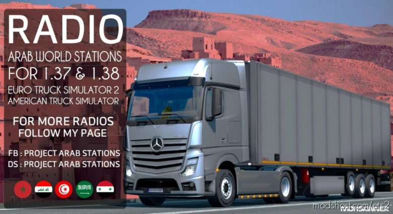 Project Arab Stations – Arab World Stations V1.6 for Euro Truck Simulator 2