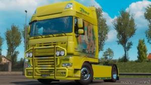 Bullbar Skinnable For DAF 105 & 106 [1.38] for Euro Truck Simulator 2