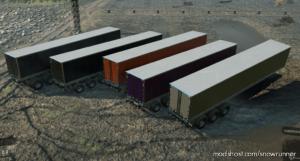 Ix-Tra Heavy Duty 7-Slot High-Saddle Trailer for SnowRunner