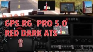 GPS RG PRO RED Dark V5.0 for American Truck Simulator