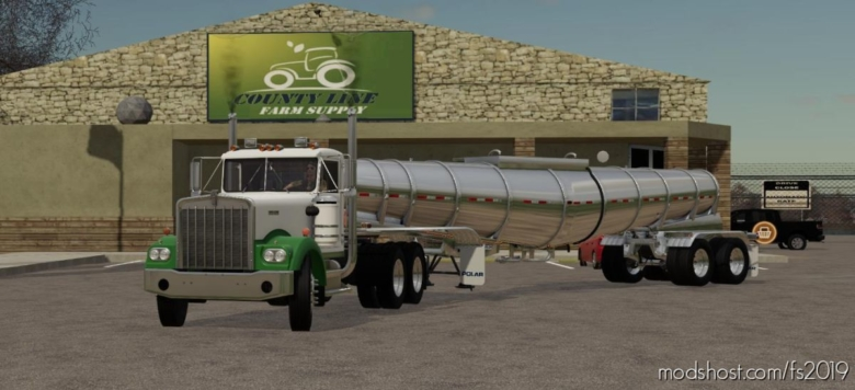Polar Deep Drop Tanker for Farming Simulator 19