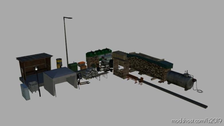 Deco Pack (Prefab) for Farming Simulator 19