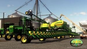 John Deere DB90 36-ROW 30 V1.0.0.1 for Farming Simulator 19