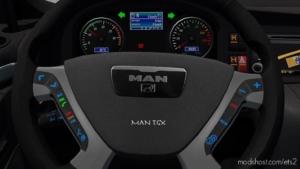 MAN TGX And TGX Euro 6 Dashboard Colors for Euro Truck Simulator 2