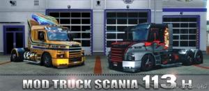 Scania 113H T V2.5 for Euro Truck Simulator 2