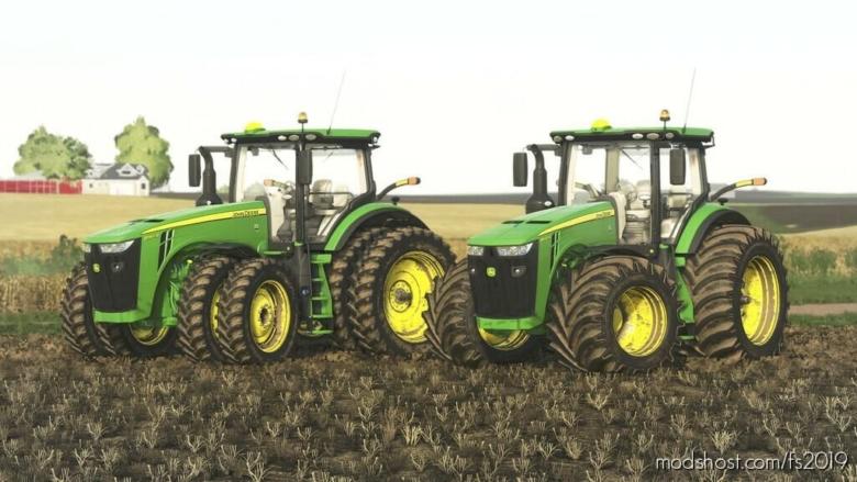 John Deere 8R US Series V2.0 for Farming Simulator 19