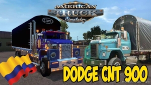 Dodge CNT 900 Colombiano V2.0 [1.38.X] for American Truck Simulator
