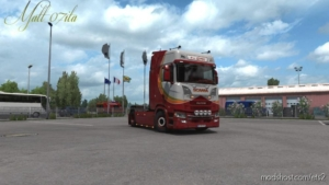 Scania NG VAN Setten Transport for Euro Truck Simulator 2