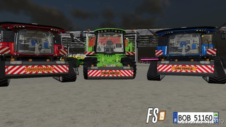 Plaque Frontal 2 By BOB51160 V2.5 for Farming Simulator 19