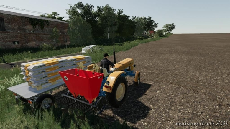 Lizard S208 for Farming Simulator 19