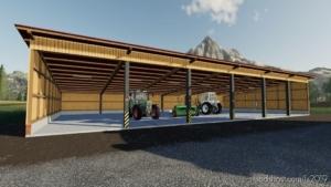 Machine Shelter V1.0.0.2 for Farming Simulator 19