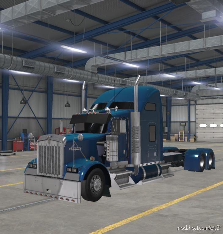 Kenworth W900 Long [1.38] for Euro Truck Simulator 2