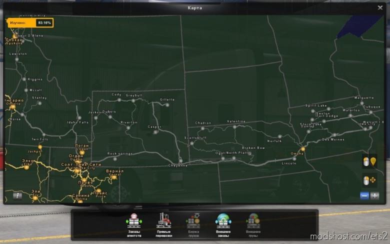 Bartoland Map V2.0 [1.38] for Euro Truck Simulator 2