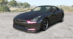 Nissan GT-R Spec V (R35) 2009 for BeamNG.drive
