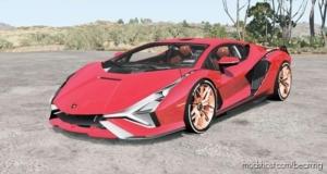 Lamborghini Sian FKP 37 2019 for BeamNG.drive