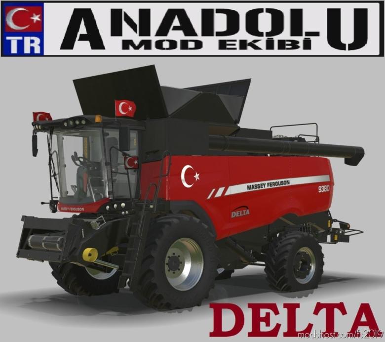 Bicerdoverserisi Delta for Farming Simulator 19