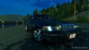 Ford Crown Victoria 2012 [1.38] for American Truck Simulator
