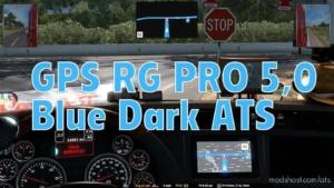 GPS RG PRO Blue Dark V5.0 for American Truck Simulator