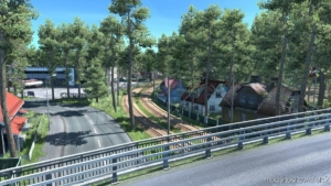 Riga Metro Area Rebuild V1.1 for Euro Truck Simulator 2