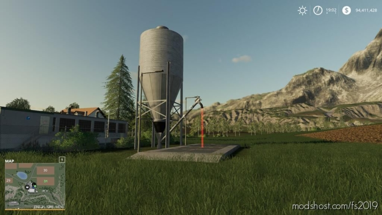 10M Silo V1.1 for Farming Simulator 19