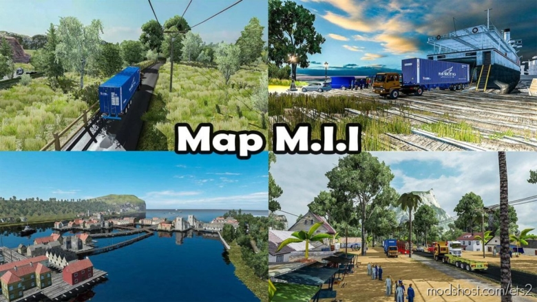 Most Extreme Map Mod Of Indonesia [1.30 To 1.38] for Euro Truck Simulator 2