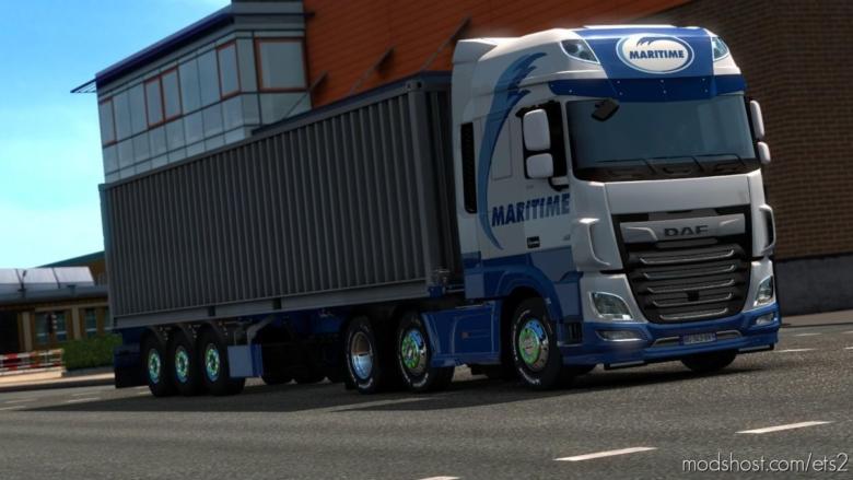 Maritime DAF XF Euro 6 Skin for Euro Truck Simulator 2