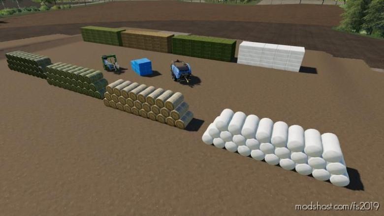 BDM Bale Storage for Farming Simulator 19