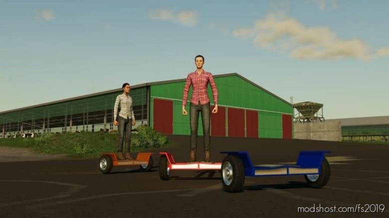 Hoverboard for Farming Simulator 19